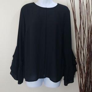 Who What Wear Black Blouse/Shirt S